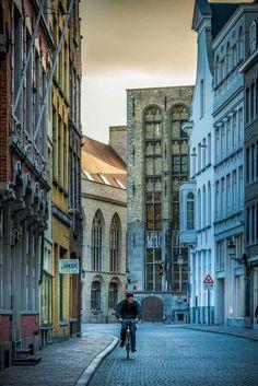 Brujas.  Bélgica.