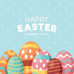 Flat happy easter day background Free Vector A photo symbolizing Happy Easter and Blesses from Jesus! Happy Easter Messages, Happy Easter Wishes, Happy Easter Day, Funny Easter Pictures, Easter Funny, Easter Illustration, Easter Wallpaper, Easter Religious, Catholic Easter