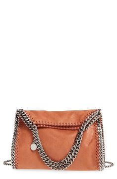 d824f5371eaf STELLA MCCARTNEY  Mini Falabella - Shaggy Deer  Faux Leather Tote.   stellamccartney  bags  shoulder bags  hand bags  leather  tote  lining