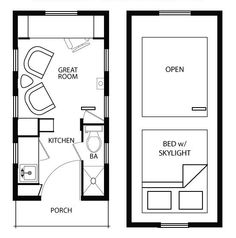 Based on Tiny House Plan 896-2 by Jay Shafer | Gingerbread Houses ...