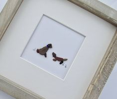 dog wall frame pebble art dog pebble picture best friend