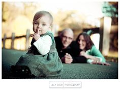 I don't necessarily love this pose, just one where the baby is in focus and parents are blurry in the background