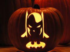 joker and batman co stoneykins pumpkin carving patterns and