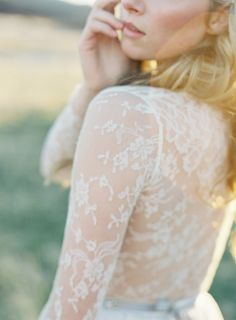 Lace Wedding Gowns by Emily Riggs