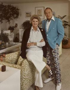 Bob and Dolores Hope at home in Palm Springs. Click any photo for a slideshow.