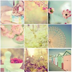 I love soft Pastel Colors- they make me feel good inside