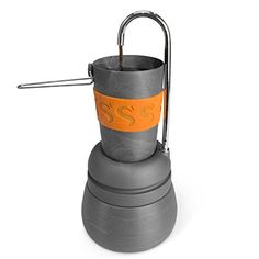 Winterial Percolator Coffee Maker  Compact  Cups Included  Coffee  Camping  Backpacking  Camping Coffee  Coffee Maker *** To view further for this item, visit the image link.