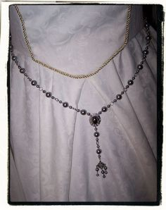 Black Pearl Queen Regent Renaissance Tudor by RecycledRockstah