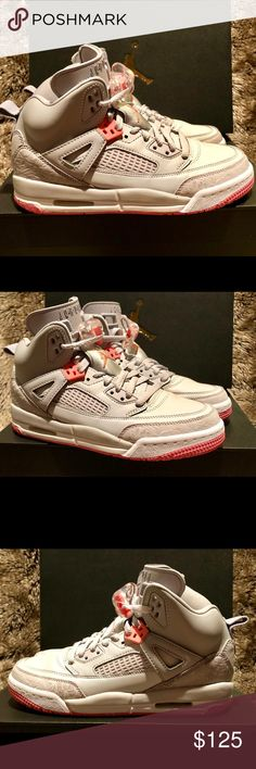 finest selection 3a64f 535d6 Nike Air Jordan Spizike GS Worn Once 535712 026 🔥 Worn only once for 1  hour for a photo shoot Mint condition 535712 026 Size   Women s Wolf Grey    Sunblush ...