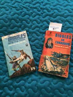 Hits The a Trail was a miss for us but Air Commodore was Biggles at the top of his game.