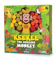 Amazon.com: Keekee The Rocking Monkey Board Game: Toys & Games