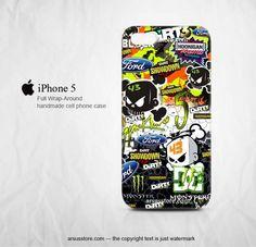 Ken Block 43 Monster Rally Team Gymkhana Dc Shoes Racing iPhone 5 Case | zarkop - Accessories on ArtFire