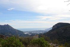 Vistas desde #Tárbena, en el interior de #Alicante. #CostaBlanca #españa #Spain #Mediterrane