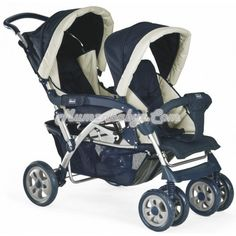 Chicco Twin Click Stroller - Astral    Do you want to be stuck in a house, living like a hermit just because you're taking care of 2 children? Times have certainly changed because mommies now have more help than they can hope for. With the Twin Clik Clak Stroller - Astral, you can now go out in style and comfort. You can certainly take comfort in the fact that your 2 angels are comfortable in this.