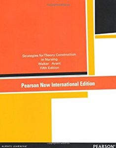Resultado de imagen de strategies for theory Strategies for theory construction in nursing / Lorraine Olszewski Walker, Kay Coalson Avantconstruction in nursing