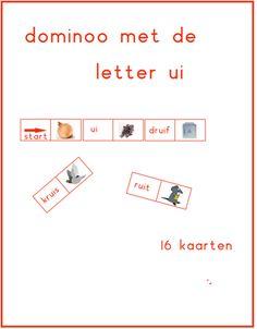Lijn 3, dominoo letter ij te gebruiken bij Thema 5 - Digibord Onderbouw