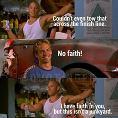 Dominic Toretto & Brian O'Connor (Vin Diesel & Paul Walker)