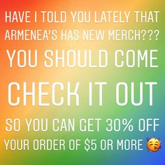 Come visit We have new merch in the store and of course our homemade items as well!