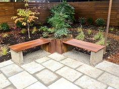 cement planter garden - Google Search