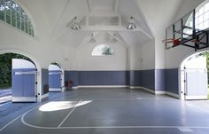 rec room design with basketball court - Google Search
