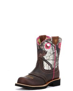 Ariat Fatbaby Cowgirl Kids Western Boots. Totally want these for