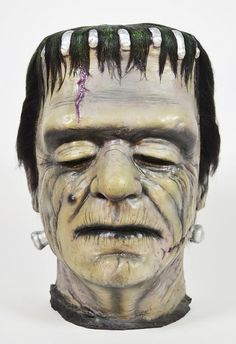 Don Post Frankenstein Glenn Strange Calendar Mask 01 by toyranch, via Flickr