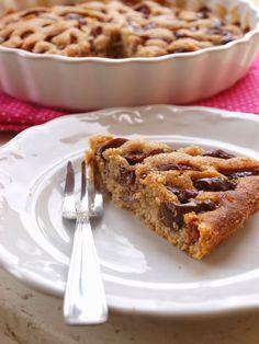 Szilvás sütemény - DESSZERT SZOBA Sweet Cakes, Apple Pie, Food, Essen, Meals, Yemek, Apple Pie Cake, Eten, Apple Pies