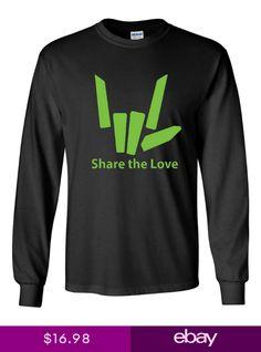 461d0727c Share the Love Lime Green Stephen Sharer Black Sweatshirt S M L XL Youth  Only Ne