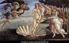 Sandro Botticelli~The Birth of Venus