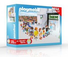 Sale a la venta un Playmobil del INEM con 4.130.927 muñecos