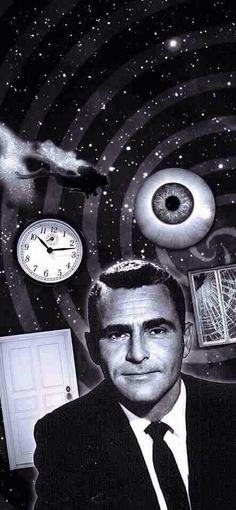 Rod Serling -- American screenwriter, playwright, television producer, and narrator known for his live television dramas of the and his science-fiction anthology TV series, The Twilight Zone Photo Vintage, Vintage Tv, Vintage Horror, Quatrième Dimension, Fritz Lang, Cinema, Old Shows, Gena Rowlands, Old Tv