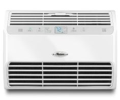 Whirlpool 10,000 BTU Energy Star Room Air Conditioner, White, W5WCE105YW by Whirlpool. $319.00. Electronic controls with large, easy-to-read digital display. Eco mode uses less energy by cycling off the compressor and fan once the set temperature is reached. Overnight mode with automatic dimmer gently adjusts the temperature while you sleep. 24-hour timer to set a start or stop time, so your room is the perfect temperature when you return. ENERGY STAR® qualified.. This 1...