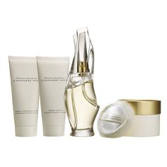Donna Karan 'Cashmere Mist' Essentials Set $110. If there was such a thing as luxurious baby powder, it would smell like this.