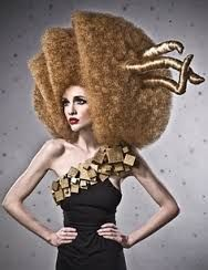 avant garde hair sculptures - Google Search