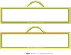 Blank Printable Sesame Street Sign Decorations - Coolest Free Printables