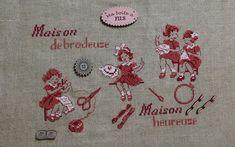 Le Point, Elsa, Creations, Cross Stitch, Punto De Cruz, Needlepoint, Embroidery, Seed Stitch, Cross Stitches