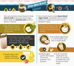 Pre-run nutrition