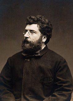 Composer Georges Bizet, 1875