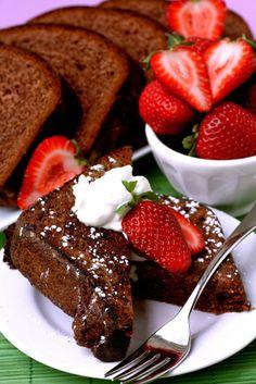 Chocolate brioche french toast