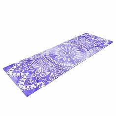 "KESS InHouse Nika Martinez Boho Flower Mandala In Yoga Exercise Mat, 72"" x 24"", Purple/Lavender Kess InHouse http://www.amazon.com/dp/B0175W0VZ4/ref=cm_sw_r_pi_dp_IZHlwb1HNRMQW #yoga #mat #mandala #watercolor #handdraw #illustration #sport #fitness #yogagirl #girly #boho #indie #hippie #chic"