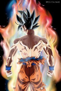 Son Goku, US Artwork (New Transformation) by NekoAR