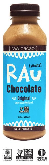 Cold Pressed Organic/Raw cacao beverage