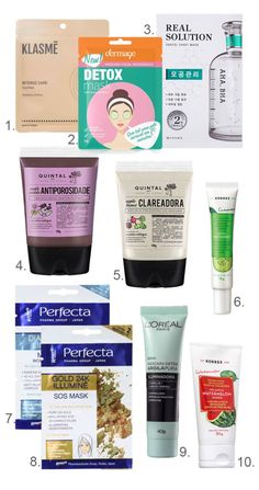 The 10 best face masks I& ever used - and they sell in Brazil!, Uncategorized, Best facial masks - best brands of face masks: for lightening, for acne, for moisturizing . Mascara Tips, Best Mascara, Skin Tips, Skin Care Tips, Eyeliner, Get Rid Of Blackheads, Best Face Mask, Summer Skin, Skin Routine