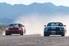 2016 Ford Shelby GT350R and 2015 Chevrolet Camaro Z/28 Go Head to Head (W/Video). Which muscle car will come out on top?