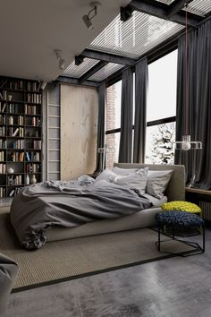 50 Easy Industrial Living Room Ideas That You Can Create For Your Urban Getaway Industrial Decor Design No. 9666 #homeindustrialdecor #industrialapartments #industrialdecor #industrial_furniture
