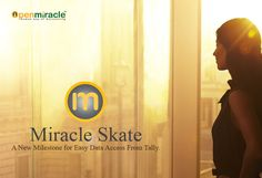 Frustrated with the accounting software you are using now?? Wishing to transfer your required data from old backup taken one to OpenMiracle software?   We have come up with a straightforward way for that. Miracle Skate is a data migration software integrated with OpenMiracle which will help you transfer data fast and safely.  This software can transfer important information from any accounting application with Master table details like Customer, Products, Account Ledgers  to OpenMiracle.