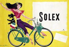Solex vintage ad