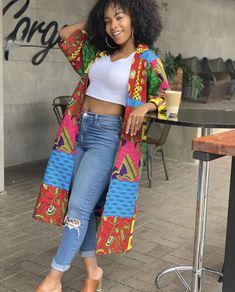 African Clothing/ Women Clothing/ Ankara Patches/Ankara Jacket/ Ankara Print/ African Print African Dresses For Women, African Print Dresses, African Print Fashion, African Fashion Dresses, African Wear, African Women, African Style Clothing, African Prints, Fashion Prints