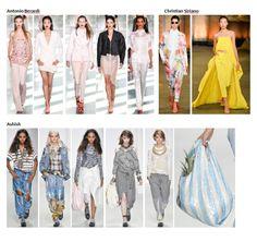 My favourite styles of Spring Summer 2014 COLLECTION apparel, shoes and make up by Antonio Berardi, Christian Siriano, Ashish ------- i miei preferiti della COLLEZIONE moda Primavera Estate 2014 abbigliamento scarpe accessori e trucco