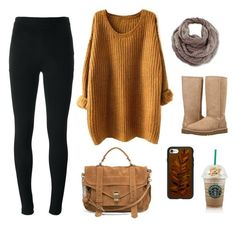 """Autumn Collection: Simple Casual"" by qstronomy ❤ liked on Polyvore featuring Givenchy, Venus, UGG, Proenza Schouler and Casetify"